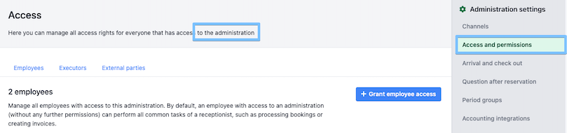 1613132213 access administration