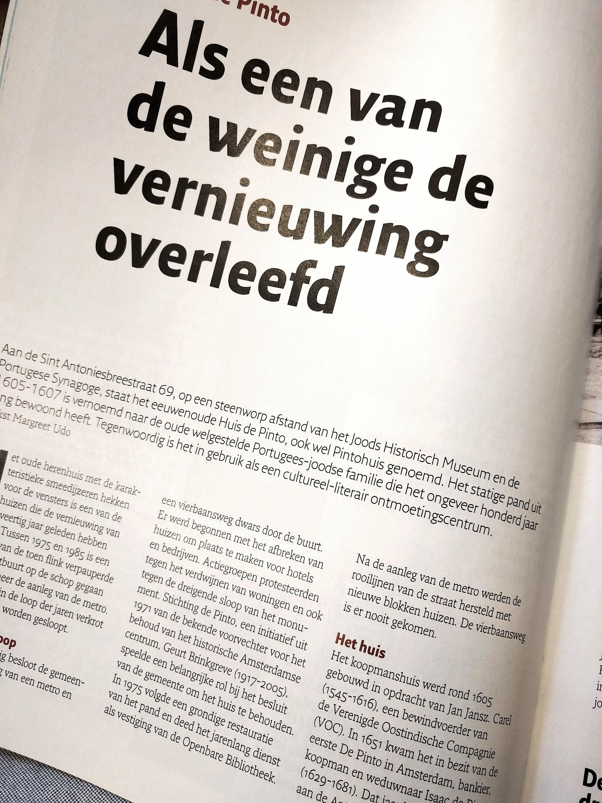 'Als een van de weinige de vernieuwing overleefd' - artikel in JCK Magazine