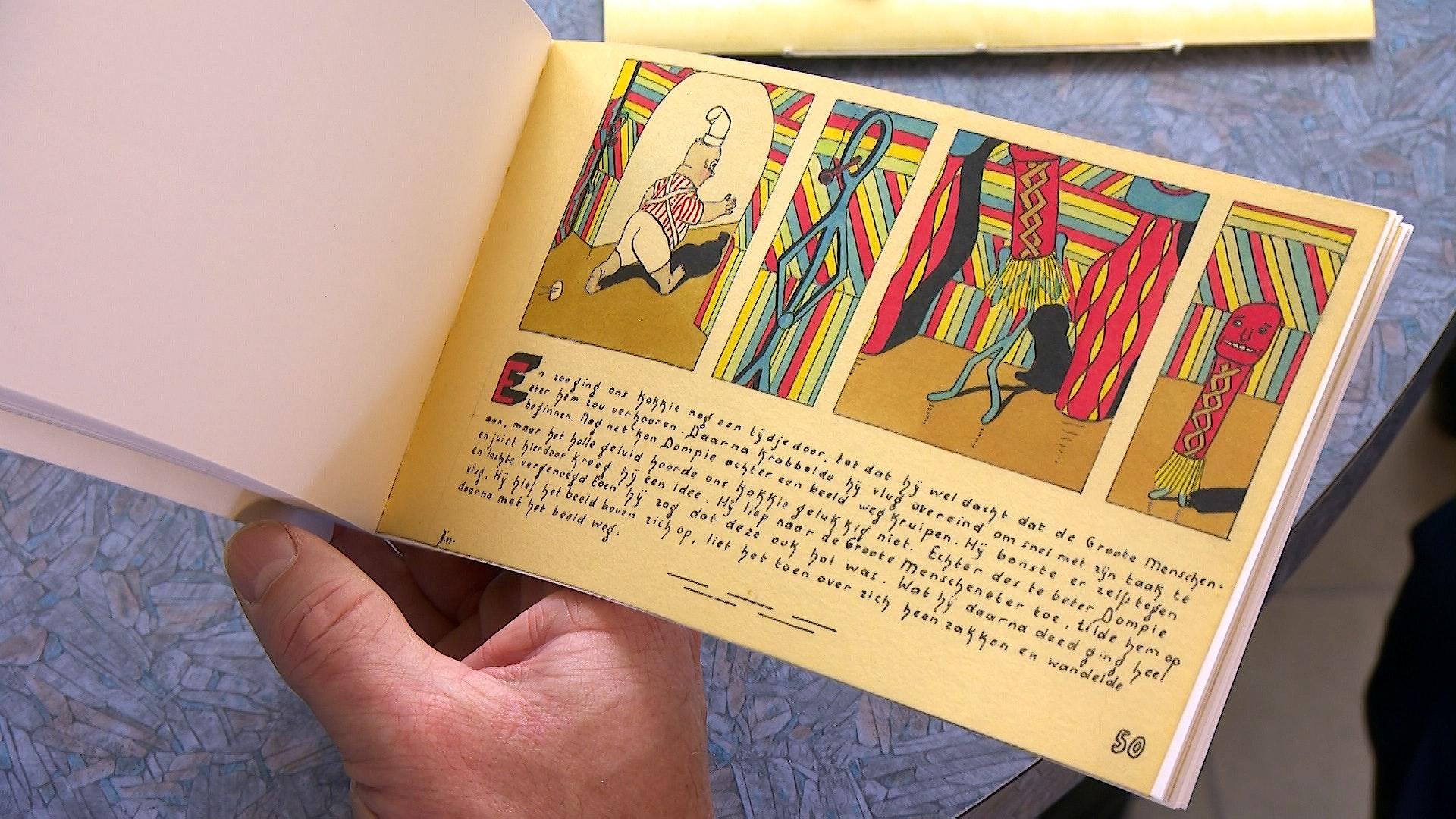 Dompie Stompie IJzerdraad: Een beeldverhaal getekend tijdens de onderduik
