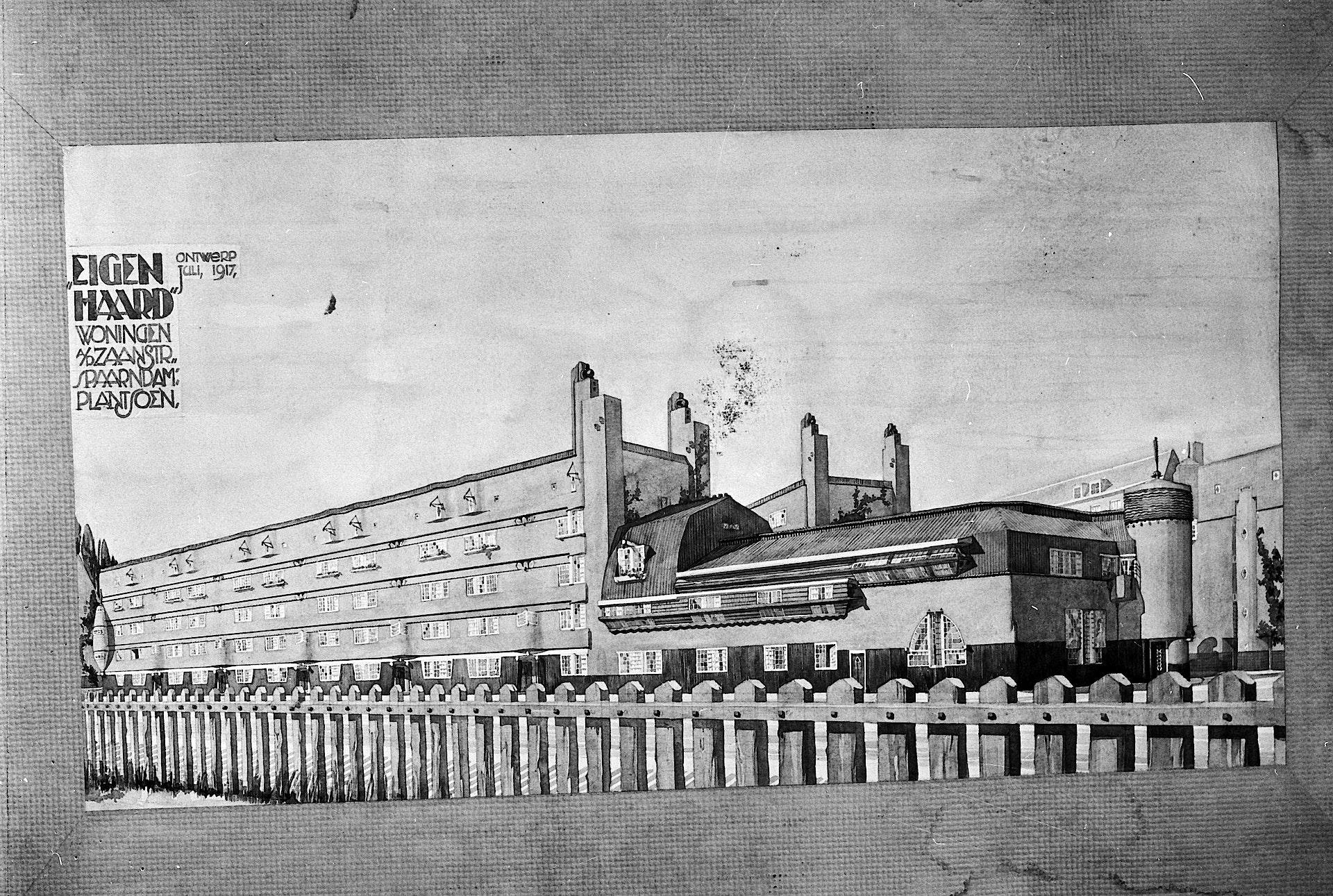 architectuur op z'n Amsterdams: vroege toekomstvisies
