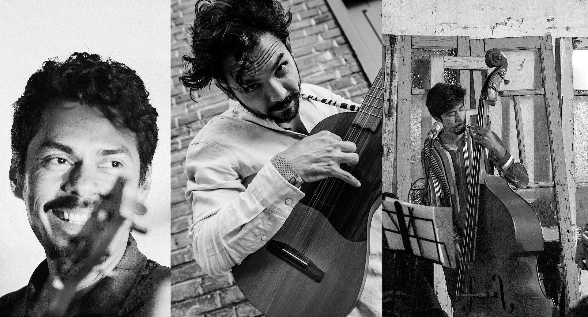 Omar Medina, Leonardo Prieto & César Puente