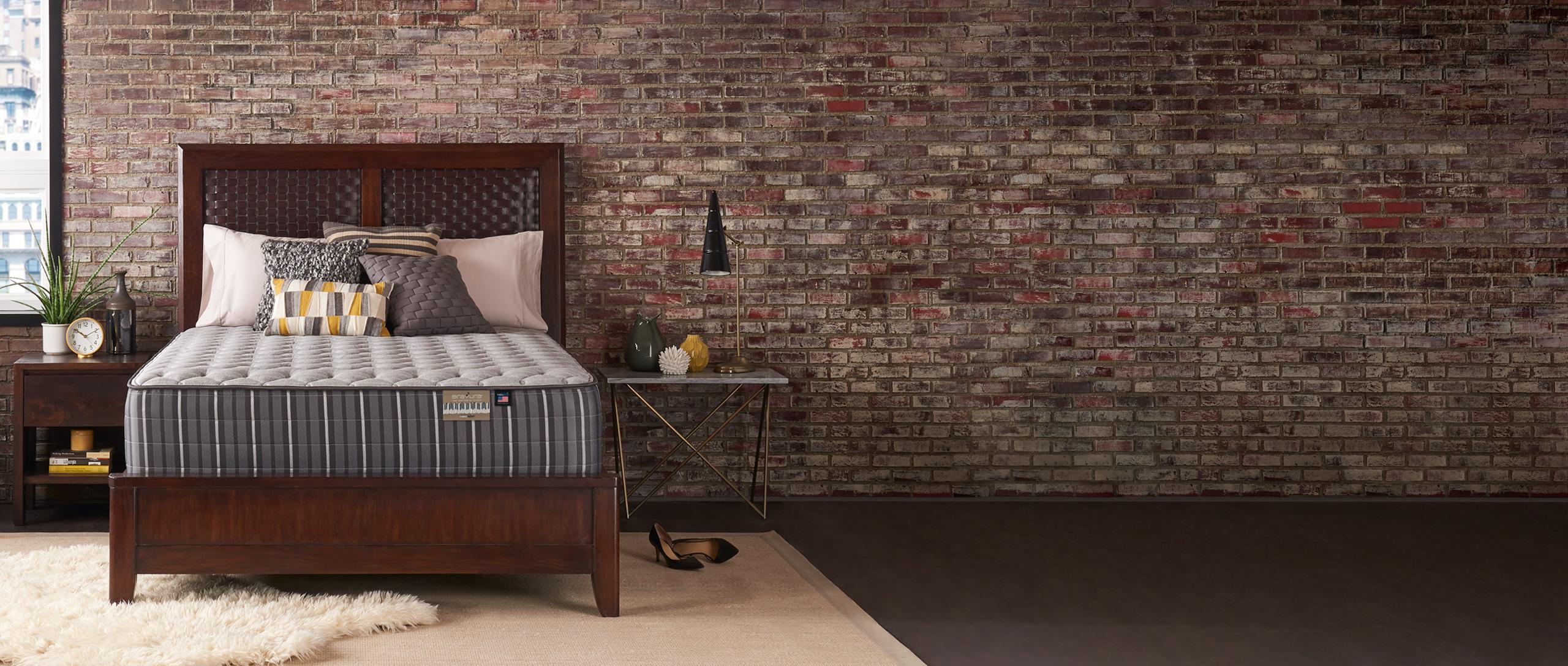 Bravura Mattress in a bedroom setting