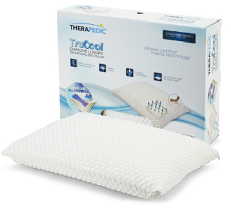 Therapedic® TruCool® Memory Foam Bed Pillow