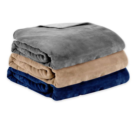 Therapedic Reversible Plush Weighted Blanket