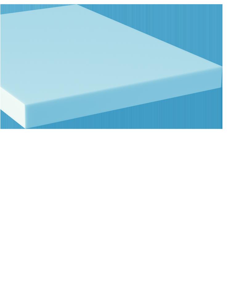 HyPURGel Plush Foam