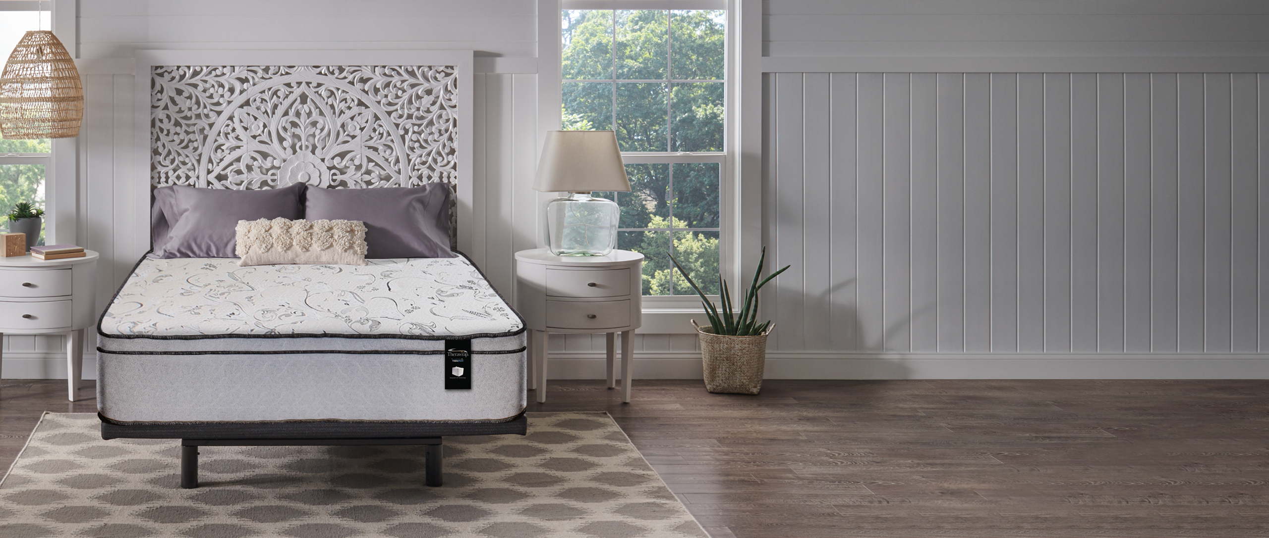 Therawrap Mattress in a bedroom setting
