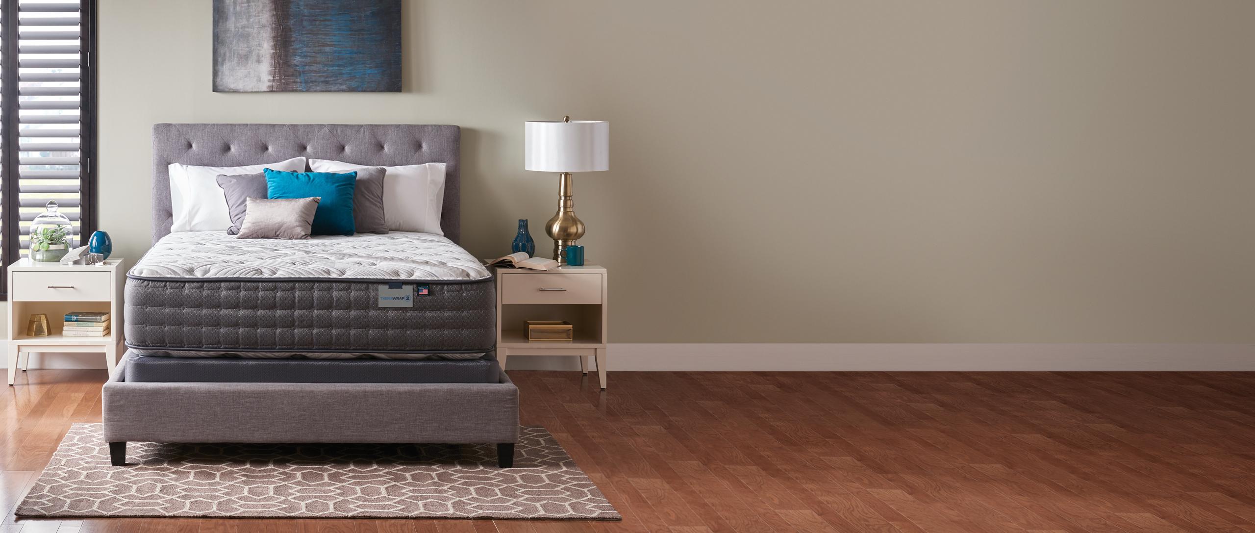 Therawrap 2 Matress in a bedroom setting