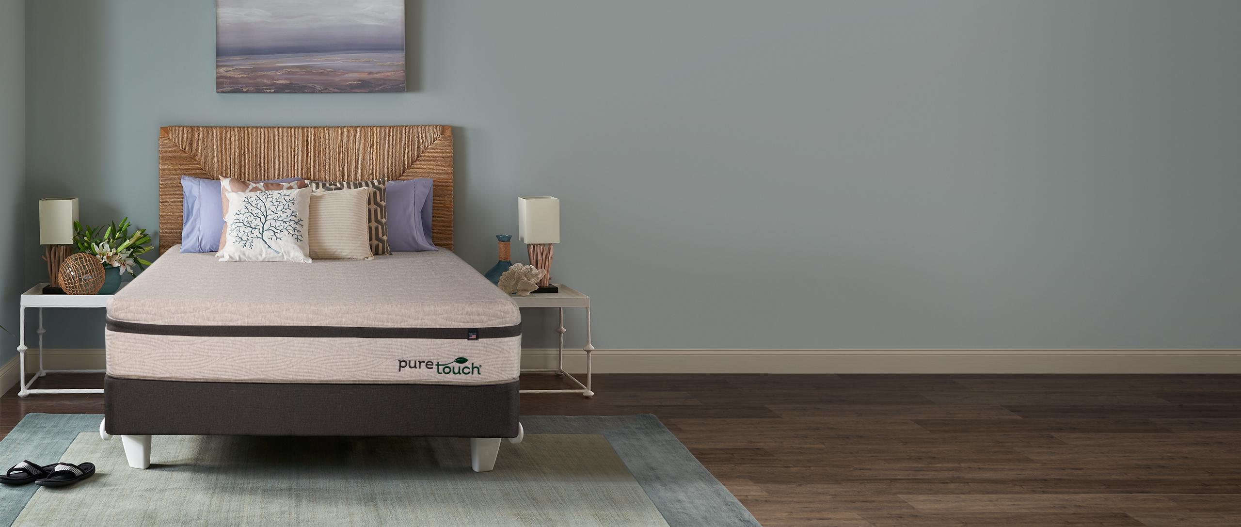 Bravura PureTouch Mattress in a bedroom setting