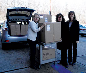 Therapedic makes donations to two New Jersey shelters