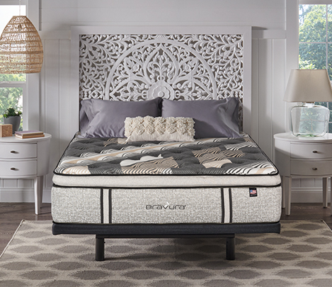 image of one of our Bravura® 2021 mattresses