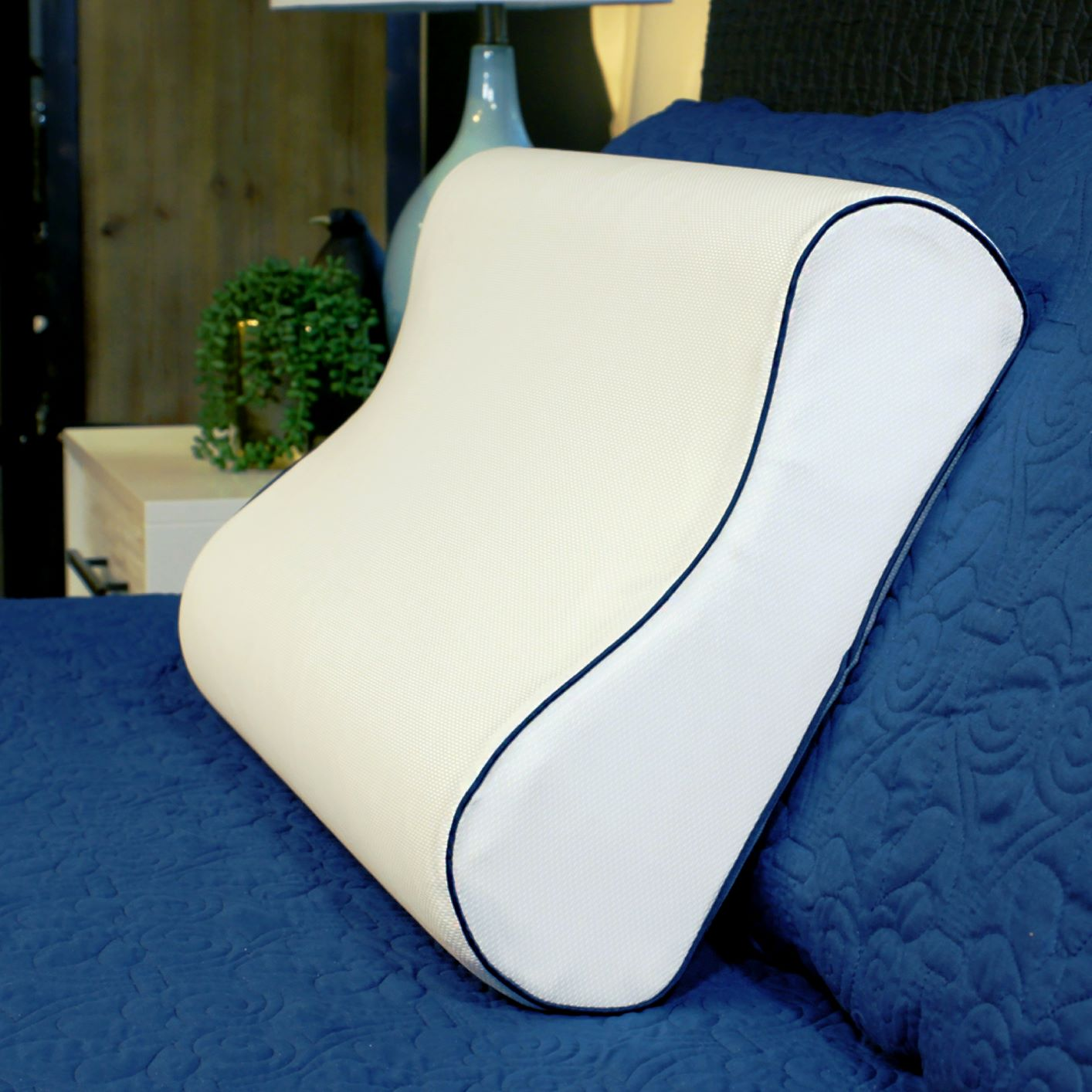 Therapedic® Polar Nights™ 20x Cooling Contour Memory Foam Pillow