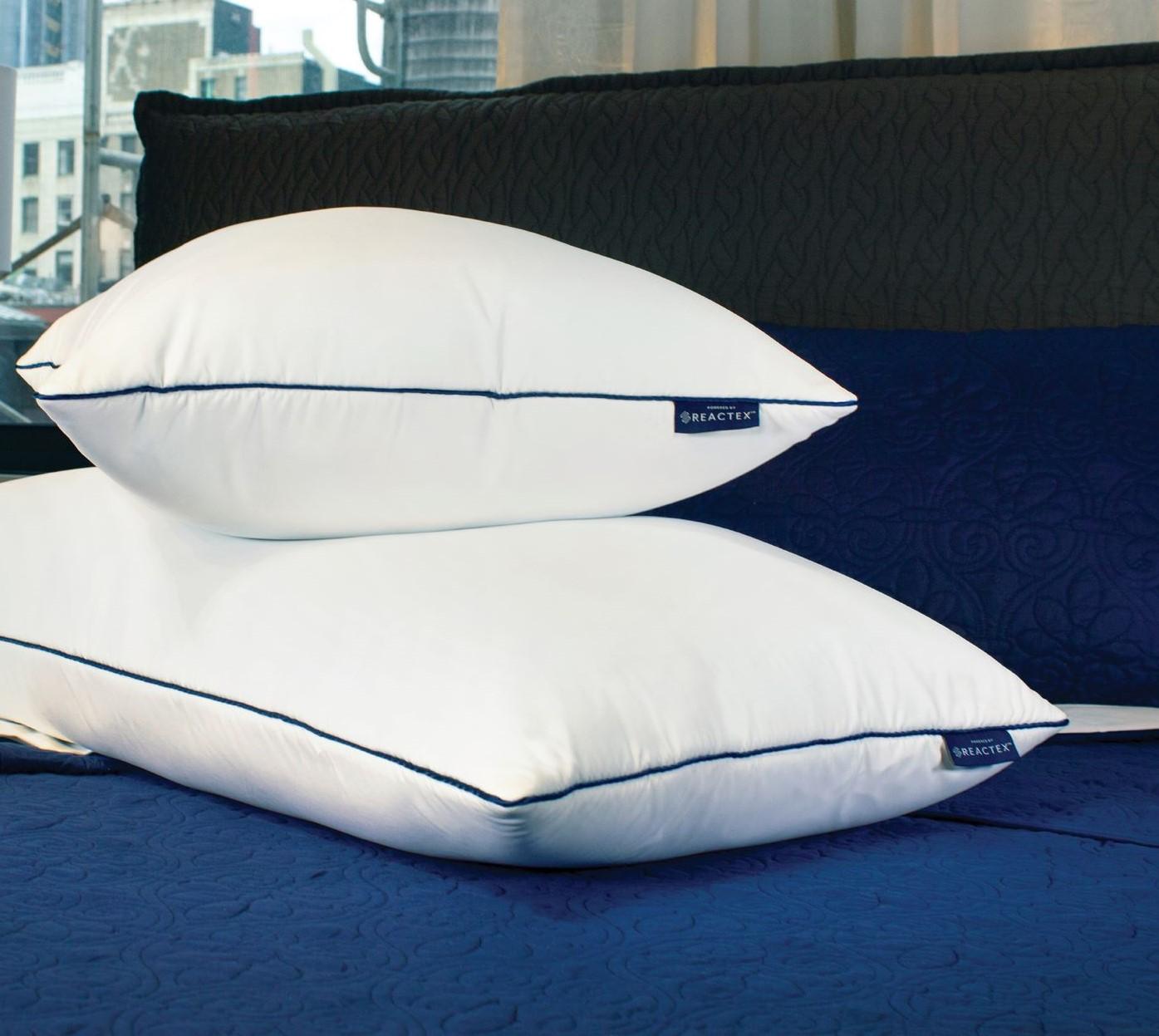 Therapedic® Polar Nights™ 25x Cooling Adjustable Ice Cube Hybrid Pillow