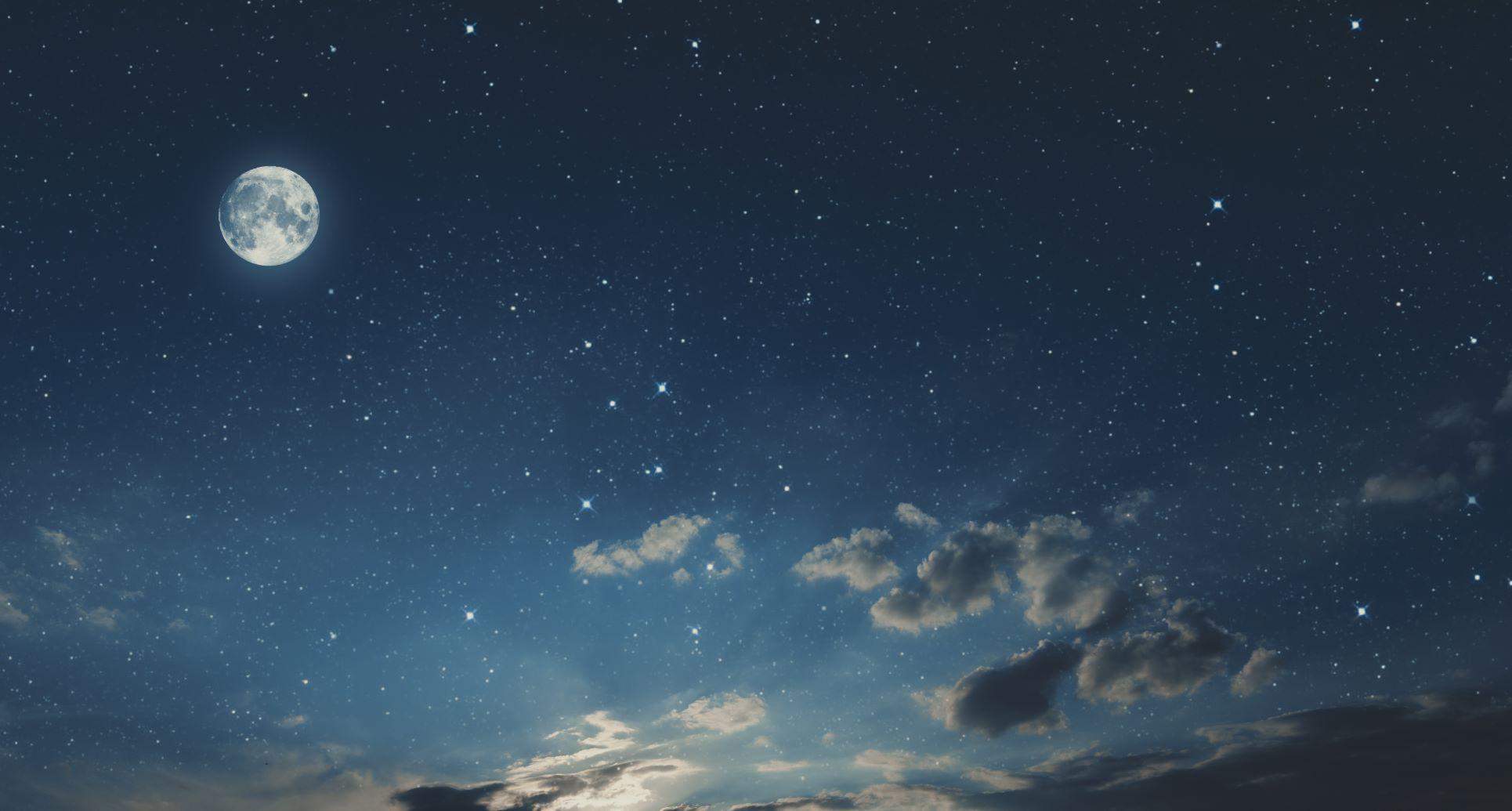 Photo of a night sky