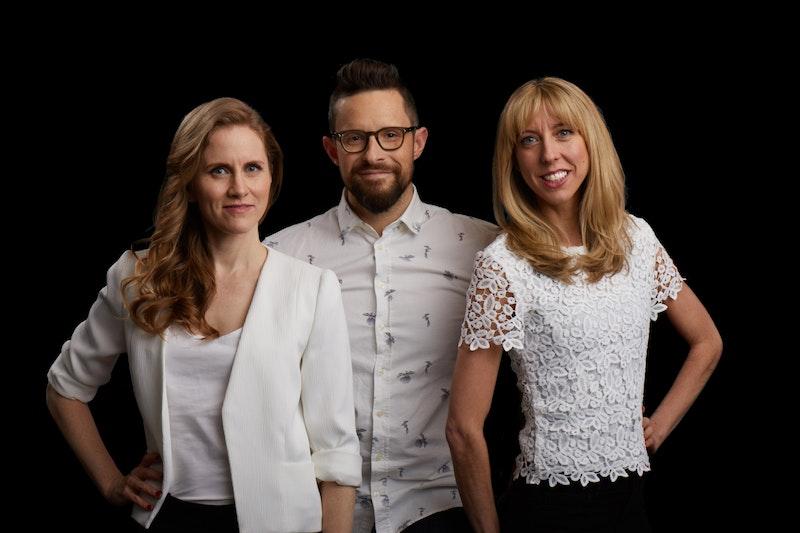 Catherine Baird, Ben McEvoy and Julie Stolberg
