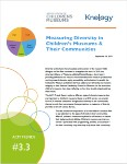 Color photo of Measuring Diversity in Childrens Museums and their communities