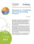 Color photo of Diversifying Funding Streams report