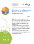 Color photo of Collaborations with Schools & Universities report