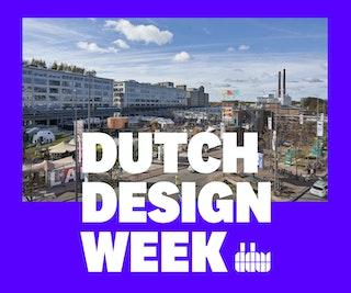 Foto van Dutch Design Week met tekst erover