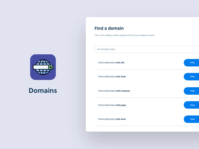 Launching domains