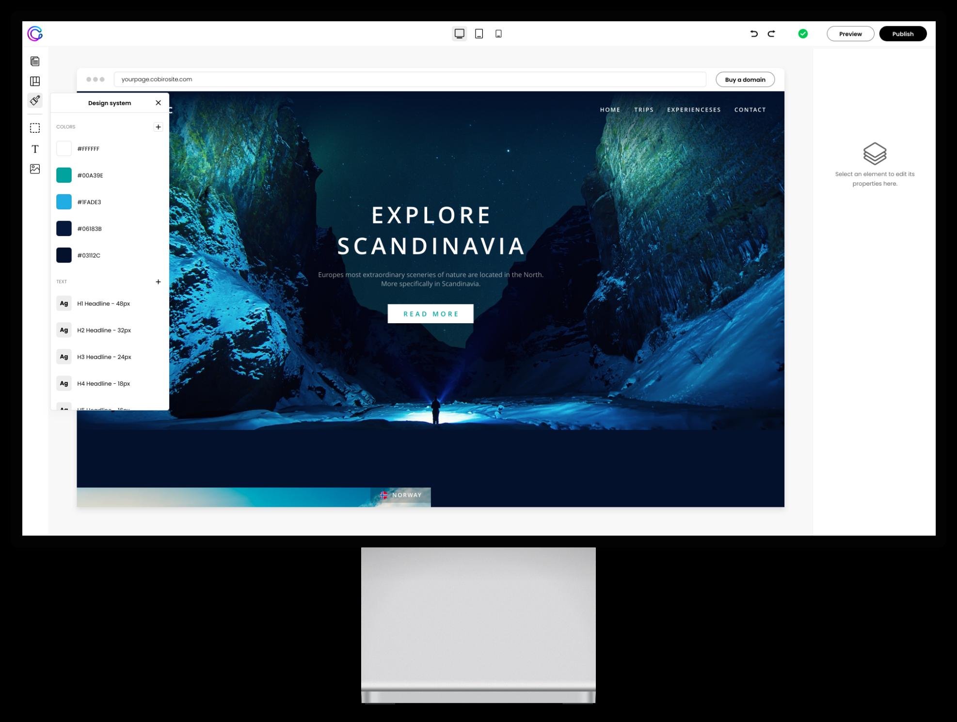 Criador de websites do futuro
