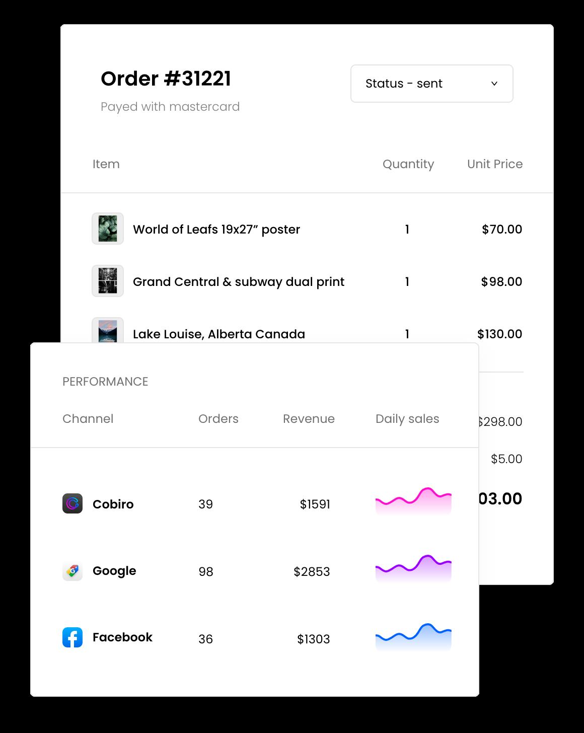 Powerful e-commerce platform
