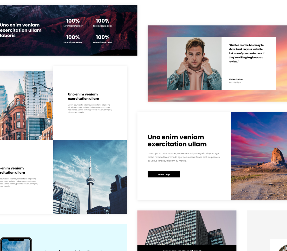 1. Choose from hundreds of stunning premade designs