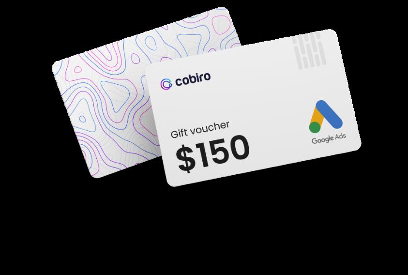 Obtenez un coupon Google Ads de 150$