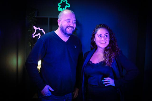 Bo, Cobiro's CEO and Ghazaleh, Cobiro's new COO