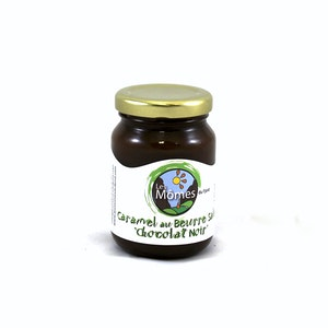 Black chocolate salted butter caramel - 125 ml