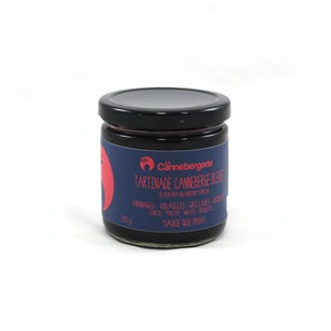 Tartinade canneberge-bleuets