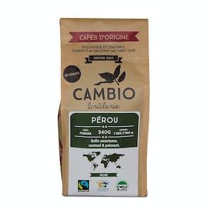 Coffee cambio - Peru - unmilled