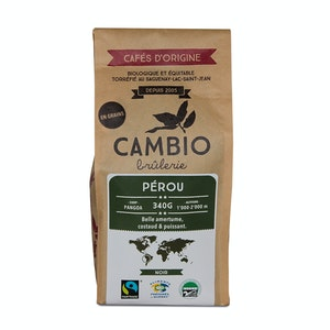 Coffee cambio - Peru - unmilled
