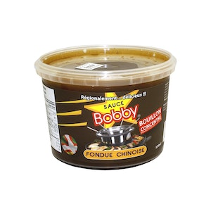 Concentrated broth for Chinese fondue
