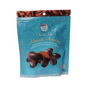 Amandes enrobées de chocolat