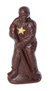 Joueur de hockey Chocolat Lulu