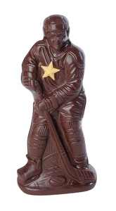 Hockey player Chocolate Lulu