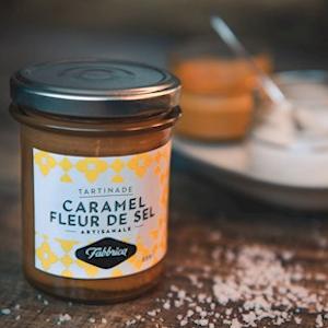 Tartinade caramel et fleur de sel