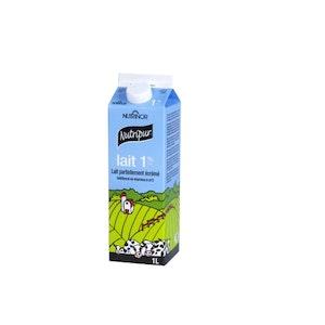 1 litre lait 1% - Nutripur