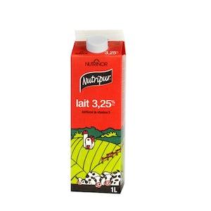 1 litre lait 3.25% - Nutripur