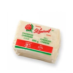 Fromage Cheddar en meule 200 g - frais du jour - St-Laurent