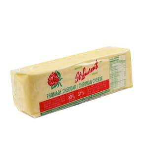 Fromage Cheddar en meule 2.27 frais du jour - St-Laurent