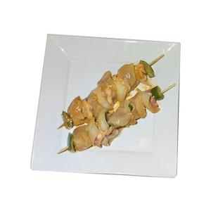 Deux brochettes de poulet - Salaison Besson