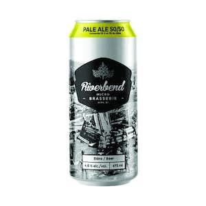 Bière - Pale ale 50/50 - Microbrasserie Riverbend