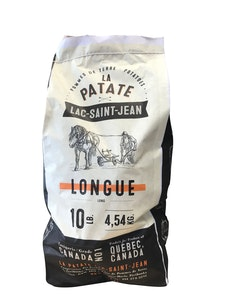 Patates longue - La patate Lac-Saint-Jean
