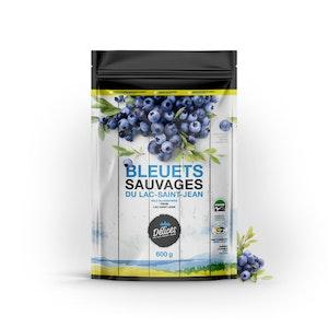 Bleuets sauvages biologiques surgelés 600g