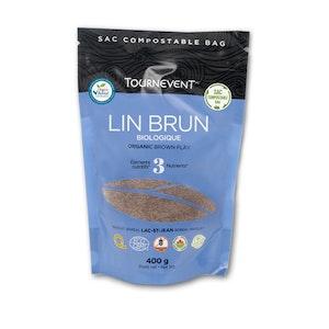 Lin brun biologique - Ferme Tournevent
