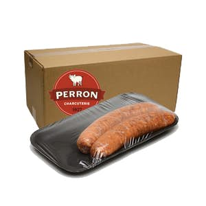 22 saucisses italiennes fortes congelées (2 kilos) - Perron Charcuterie