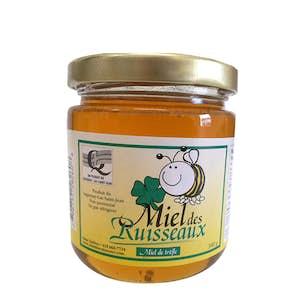 Miel de trèfle 340g - Miel des ruisseaux