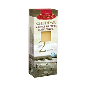 Cheddar 2 ans BIO - Fromagerie Perron