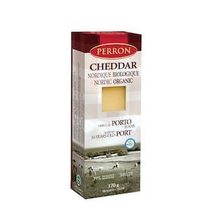 Cheddar porto BIO - Fromagerie Perron
